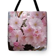 Blossoms On Bark Tote Bag