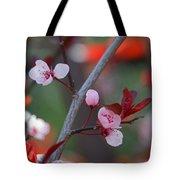 Blossoms Petite Tote Bag