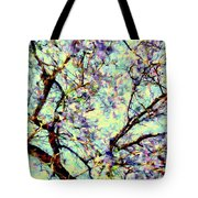 Blossoms Up Tote Bag