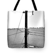 Blot On The Landscape Tote Bag