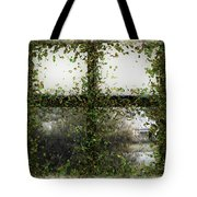 Blotted Out Tote Bag