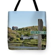 Blow Me Down Road Tote Bag