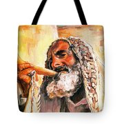 Blow The Trumpet In Zion Tote Bag