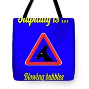 Blowing Bigstock Donkey 171252860 Tote Bag