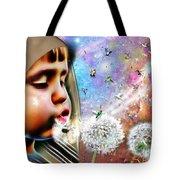 Blowing Blessings Tote Bag
