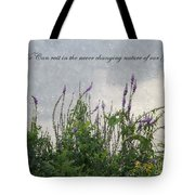 Blowing In The Breeze Tote Bag
