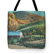 Blowing Rock Impressionist Tote Bag