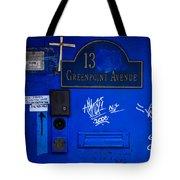 Blue 13 Tote Bag