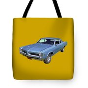 Blue 1966 Pointiac Lemans Tote Bag