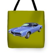 Blue 1967 Buick Riviera Tote Bag