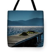 Blue 2 Tote Bag