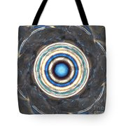 Blue Abalone Sphere Tote Bag