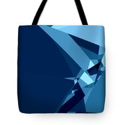 Blue Abstract 1 Tote Bag