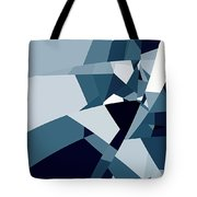 Blue Abstract 2 Tote Bag