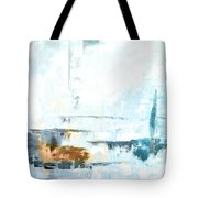 Blue Abstract 12m1 Tote Bag