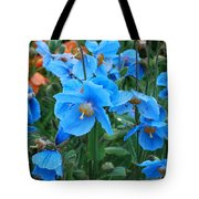 Blue After The Rain Tote Bag