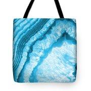 Blue Agate Slice Tote Bag