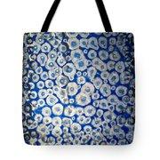Blue Cells Tote Bag