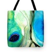 Blue And Green Art - Pools - Sharon Cummings Tote Bag