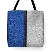 Blue And White Tote Bag