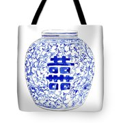 Blue And White Ginger Jar Chinoiserie 8 Tote Bag