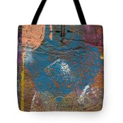 Blue Angel Watches Over Me Tote Bag by Angela L Walker