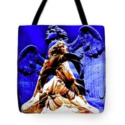 Blue Angel Wings Tote Bag