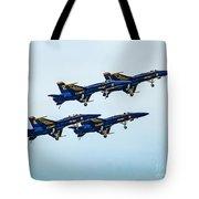 Blue Angels Carrier Landing Tote Bag