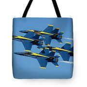 Blue Angels Diamond Formation Tote Bag