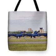 Blue Angels Flight Line Tote Bag