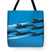 Blue Angels Tote Bag