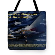 Blue Angels Ta-4j Skyhawk Tote Bag