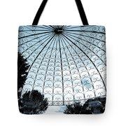 Blue Arbor Tote Bag