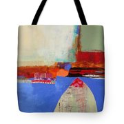 Blue Arch Tote Bag