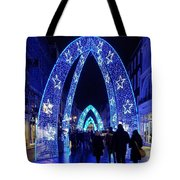 Blue Archways Of London Tote Bag