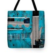 Blue Bag Ditty  Tote Bag