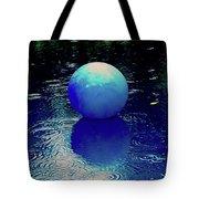 Blue Ball 4 Tote Bag