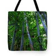 Blue Bamboo Tote Bag