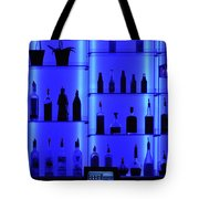 Blue Bar Tote Bag