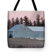 Blue Barn Tote Bag
