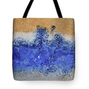 Blue Beach Bubbles Tote Bag