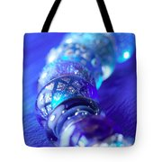 Blue Beads 1 Tote Bag