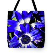 Blue Beauties Tote Bag