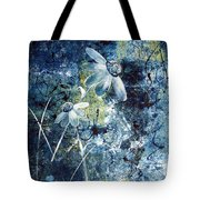 Blue Beauties Tote Bag