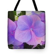 Blue  Beauty  Tote Bag