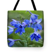 Blue Bell Tote Bag