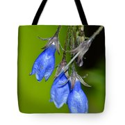 Blue Bells Are Ringing Tote Bag