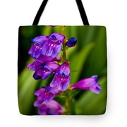 Blue Bells Wild Flower Tote Bag