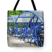 Blue Bicycle Berth Tote Bag