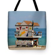 Blue Bicycle Tote Bag by David Lee Thompson